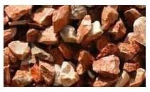 10 m3 Marmolina roja de Alicante 9/12mm  triturada