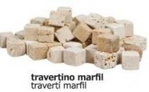 Daus marbre travertí marfil
