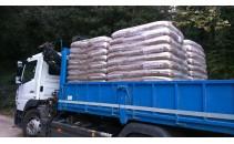 77 sacs de 15 kg de pellets